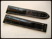 WATCH STRAP BAND FITS OMEGA SPEEDMASTER CLASP 21/18MM BRACELET MADE IN ITALY