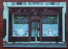 Carte postale A la rose mécéne,JAcqueline Benoit     ,postcard