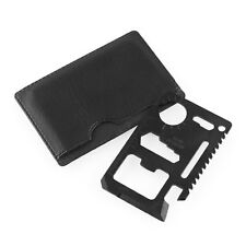 11 in 1 Multi Credit Card Survival Pocket Black Outdoor Sport Tool Kits
