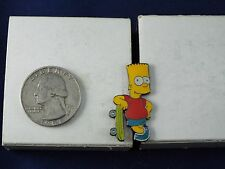THE SIMPSONS FOX TV MATT GROENING PIN BART SIMPSON WITH SKATEBOARD