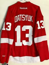Reebok Premier NHL Jersey Detroit Redwings Pavel Datsyuk Red sz L