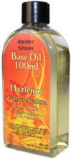 Hazlenut Aromatherapy Base Carrier Oil 100ml Corylus Avellana cold pressed