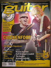GUITAR MAGAZINE 2009/7 NR. 110 - CHICKENFOOT IRON MAIDEN THE KINKS INCL. CD