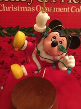 Mickey Mouse Angel Disney Grolier Christmas Magic Ornament In Box
