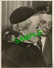 ORIGINAL 1949 PRESS PHOTOGRAPH AMERICAN STAGE RADIO FILM TV ACTRESS ANN SOTHERN