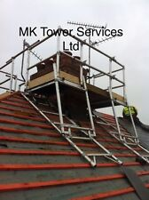 CHIMNEY SCAFFOLD ACCESS TOWER SYSTEM...ALUMINIUM INDUSTRIAL, FULL SET