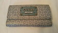 Guess Blue Trifold Wallet