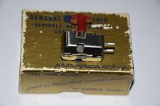GE RPX-52 VARIABLY RELUCTANCE MONO CARTRIDGE NOS TESTED W/DATA SHEET