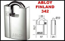 Abloy® 342 Security Padlock High Security BS EN Grade 4 Shrouded Super Hardened