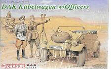 Dragon/PLATZ DAK Kubelwagen w/Officers in 1/35 6364 ST
