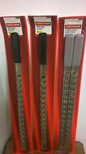 "Craftsman 4pc Socket Rack Rail 1/4"" 3/8"" Storage Organizer"