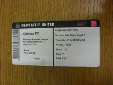 03/12/2011 Ticket: Newcastle United v Chelsea  . Thanks for viewing this item, w