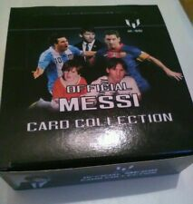 Official Lionel Messi Football Card Collection 110 Unopened Cards