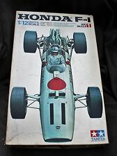 Vintage Tamiya 1/12 Honda F-1 Formula Race car Surtee Ginther Plastic Model Kit