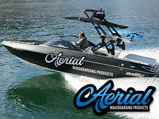 BRAND NEW AERIAL FREERIDE WAKEBOARD TOWER  BLACK  FORWARD FACING