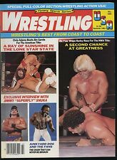 Wrestling USA Magazine - Summer 1984 - Ric Flair / Jimmy Snuka / Junkyard Dog