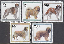 Germany (Federal) 1996 Youth Welfare Fund - Dogs Set UM SG2696-700 Cat £11.00