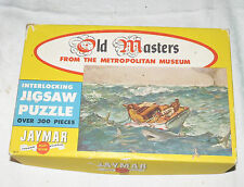 Old Masters Vintage Jigsaw Puzzle The Gulf Stream Complete