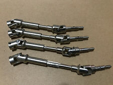 Hardened Steel Driveshafts CVD Kit For Traxxas Slash VXL 4x4