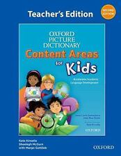 Oxford Picture Dictionary Content Area for Kids by Kate Kinsella, Joan Ross...