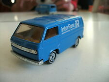 "Siku Volkswagen Transporter T3 ""InterRent"" in Blue"