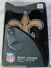 NFL NIB CAR SEAT COVER - NEW ORLEANS SAINTS