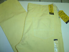NEW MENS NAUTICA YELLOW STRAIGHT FIT JEANS SIZE 32 X 30  $69