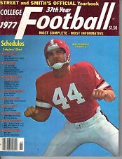 1977 Street & Smith's College Football, magazine, Ben Zambiasi, Georgia ~ VG