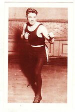 NOSTALGIA POSTCARD - JOHNNY KILBANE BOXER 1934 - SET 35