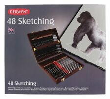 Derwent Sketching Pencil 48 Wooden Box