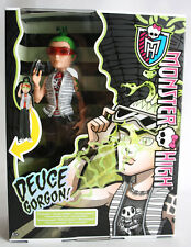 RARE 2013 MONSTER HIGH GHOULS ALIVE DEUCE GORGON LIGHT & SOUND EUROPEAN NEW MIB!