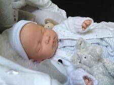 """  ALFIE  "" 18 INCH SLEEPING REBORN BABY BOY MAGNETIC DUMMY"