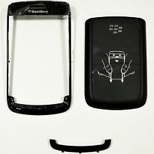 BLACKBERRY 9780 BATTERY BACK DOOR COVER & BOTTOM FRONT KEYBOARD PANEL & FRAME
