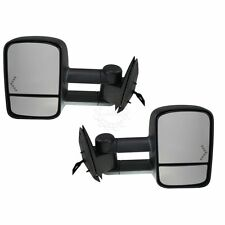 Side View Mirrors Power Heated Towing Signal Pair Set for Chevy GMC Cadillac