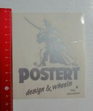 Aufkleber/Sticker: Postert design & wheels (131016149)