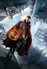 Doctor Strange Movie Poster (24x36) - Marvel, Benedict Cumberbatch, Mikkelsen v4