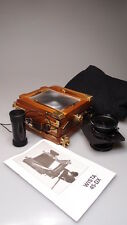 WISTA 4X5 45-DX WOOD FIELD CAMERA W/ANGULON 90mm MINT**MINT***