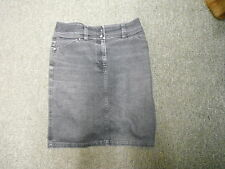 "Next Denim Skirt Jeans Size 10 Length 20"" Faded Dark Blue Ladies Denim Skirt"