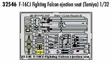 Eduard 1/32 F-16CJ Fighting Falcon ejection seat for Tamiya kit # 32546