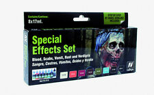 VALLEJO VAL72213 - Game Color Set - Special Effects Set (x8)