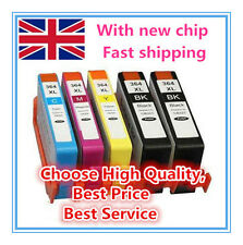 5 HP 364 XL CHIPPED Ink Cartridge for Photosmart5510 5515 5520 5524 6510 Printer