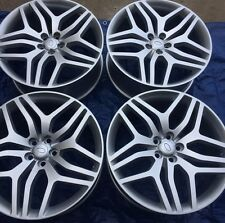 "SET OF FOUR 22"" x9.5"" WHEELS RIMS for LAND RANGE ROVER HSE SPORT LR4 SILVER NEW"