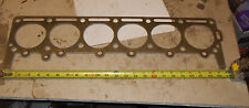 Continental 170,184,199,202 Head Gasket six Cyl Gas Engine Oliver Divco Clark