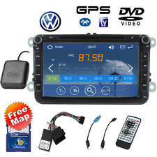 "8"" VW Autoradio gps dvd player Reproductor PASSAT Golf Seat Toledo Jetta Sharan"