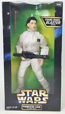 KENNER STAR WARS PRINCESS LEIA IN HOTH GEAR REBEL ALLIANCE REBEL BLASTER NIB
