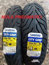 Coppia 120/70 R16 57P e 140/70 R15 69P Michelin City Grip x X-City DOT2016/2017