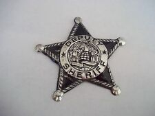 1950 DEPUTY SHERIFF TIN BADGE - JAPAN