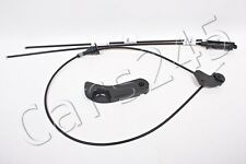 Genuine Hood Lock Release Mechanism Cables Set + Lever BMW 5 Series E39 95-2003