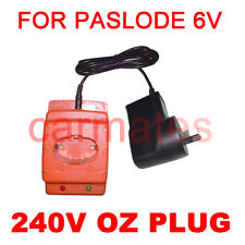 Battery Charger for Paslode 6V Framing Nailer gun 902200 900420 902000 900200 OZ