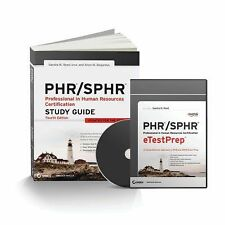 PHR / SPHR Professional in Human Resources Total Test Prep by Sandra M. Reed...
